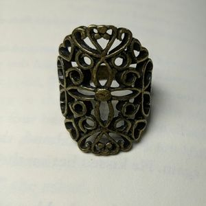 Lucky Brand Antique Gold Ring